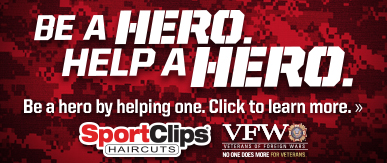 Sport Clips Haircuts of Issaquah​ Help a Hero Campaign